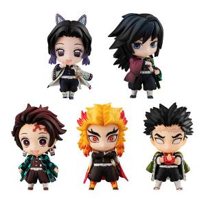 Demon Slayer: Kimetsu no Yaiba Tanjiro and the Pillars Mascot Set A [Megahouse]