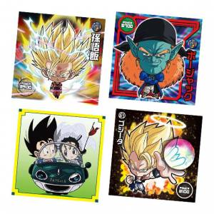 Dragon Ball Super Warriors Sticker Wafer Z 16 20 Pack BOX [Bandai]