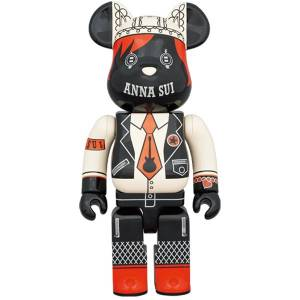 BE@RBRICK / Bearbrick ANNA SUI RED & BEIGE 400% Limited Edition [Medicom Toy]
