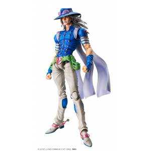 Super Action Statue Gyro Zeppeli Second JoJo's Bizarre Adventure Part. 7 Steel Ball Run (Reissue) [Medicos Entertainment]