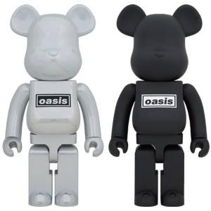 BE@RBRICK / Bearbrick OASIS (White Chrome) 1000% Limited Edition [Medicom Toy]