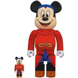 BE@RBRICK / Bearbrick FANTASIA MICKEY 100% & 400% 2PC Limited Set [Medicom Toy]