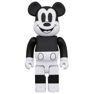 BE@RBRICK / Bearbrick MICKEY MOUSE (B&W 2020 Ver.) 1000% Limited Edition [Medicom Toy]