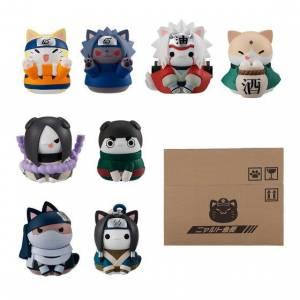 Nyaruto! NARUTO Sasuke Ku-n Kocchi ni Irasshai Hen 8Pack BOX Limited Set [Megahouse]