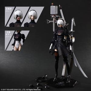PLAY ARTS YoRHa No.2 Type B (2B) DX Edition NieR:Automata [Square Enix]