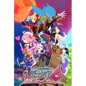 Disgaea 6: Defiance of Destiny First Press Limited Edition [PS4]