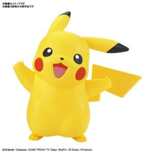 Pokemon - Pikachu Plastic Model [Bandai]