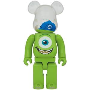 BE@RBRICK / BEARBRICK 1000% MIKE - MONSTERS, INC LIMITED EDITION [Medicom Toy]