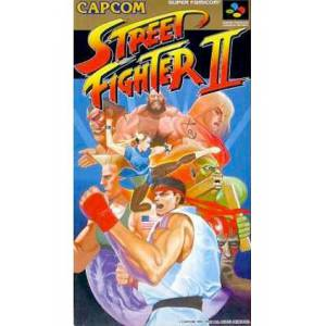 Street Fighter II - The World Warrior [SFC - Used Good Condition]