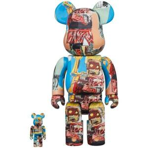 BE@RBRICK / BEARBRICK 100% & 400% JEAN-MICHEL BASQUIAT 6TH Ver. LIMITED SET [Medicom Toy]