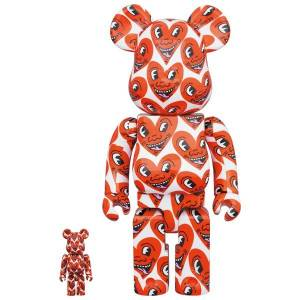 BE@RBRICK / BEARBRICK 100% & 400% KEITH HARING LIMITED SET [Medicom Toy]