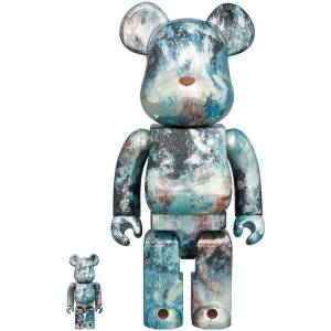 BE@RBRICK / BEARBRICK 100% & 400% PUSHEAD LIMITED SET [Medicom Toy]