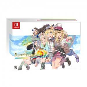Run Factory 5 Premium Box Famitsu DX Pack 3D Crystal Set [Switch]