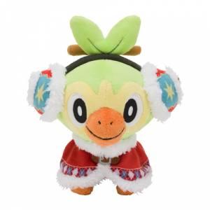 Pokemon Plush Christmas Wonderland Grookey [Plush Toy]