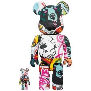 BE@RBRICK / BEARBRICK 100% & 400% MISHKA 2020 LIMITED SET [Medicom Toy]