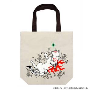 Okami 14th Anniversary Collection Mofumofu Belly Applique Tote Bag [Goods]