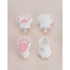 Nendoroid Doll: Animal Hand Parts Set (White) [Nendoroid]
