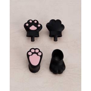 Nendoroid Doll: Animal Hand Parts Set (Black) [Nendoroid]