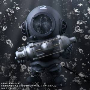 Deforeal Godzilla Dr. Serizawa Monochrome [PLEX]