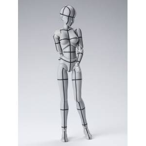 SH Figuarts Body chan Wireframe Gray Color [Bandai]