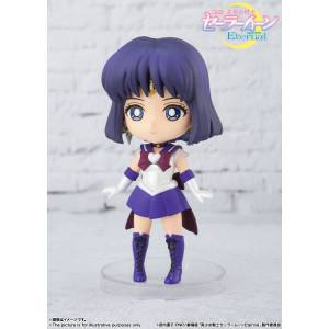 Figuarts Mini Sailor Moon - Super Sailor Saturn -Eternal edition- [Bandai]
