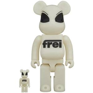 BE@RBRICK / BEARBRICK FREI 100% & 400% LIMITED SET [Medicom Toy]
