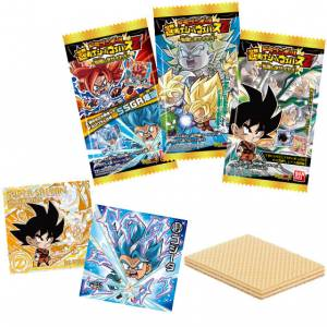 Dragon Ball Chou Senshi Wafer Z Kind Saiyans 20Pack BOX (CANDY TOY) [Bandai]