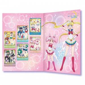 Sailor Moon Eternal Premium Carddass Collection Single item Graffiti ver. [Trading Cards]
