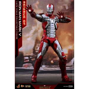 Movie Masterpiece DIECAST Iron Man 2 - Iron Man Mark. 5 [Hot Toys]