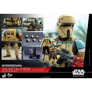 Movie Masterpiece Rogue One: A Star Wars Story - Shoretrooper (Squad Leader) [Hot Toys]