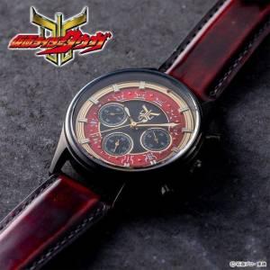Kamen Rider Kuuga Chronograph Wrist Watch Red Gold LIMITED [Bandai]