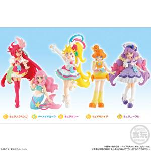 Tropical-Rouge! Pretty Cure Cutie Figure 10Pack BOX CANDY TOY [Bandai]