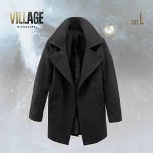 Resident Evil / Biohazard Village Coat Buttonless chester coat Chris Redfield Ver. (L size) [Goods]