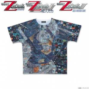 Movie version Mobile Suit Z Gundam Full Panel T-shirt Gundam Mk-II Limited Edition SIZE M [Goods]