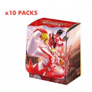 Pokemon Card Game Deck Case Gignatamax Urshifu (Single Strike Form) 10 Pack Box [Trading Cards]