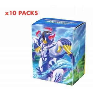 Pokemon Card Game Deck Case Gignatamax Urshifu (Rapid Strike Form) 10 Pack Box [Trading Cards]
