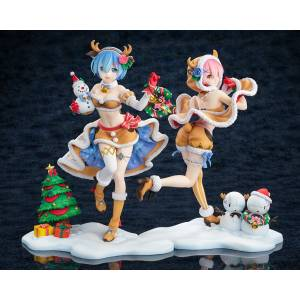KDcolle Rem and Ram Reindeer maid set - Re:ZERO -Starting Life in Another World LIMITED [Kadokawa]