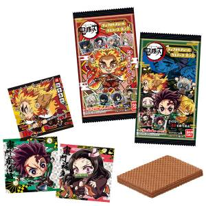 Demon Slayer: Kimetsu no Yaiba Deforme Sticker Wafer Vol.3 20Pack BOX (CANDY TOY) [Bandai]