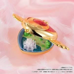 Sailor Moon Compact House Premium Collection-Crisis Moon Compact LIMITED [Bandai]