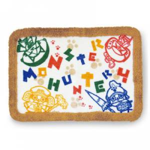 Monster Hunter 4 - Bath Mat Airou design [Goods]