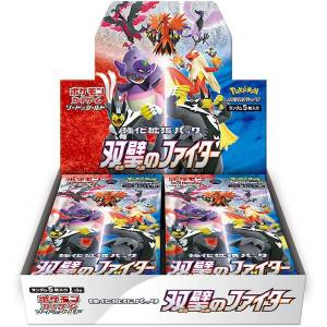 Pokemon Card Game Sword & Shield Booster Expansion Pack Double Fighter 30 Pack BOX [Trading Cards]