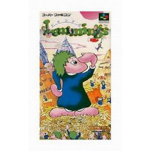 Lemmings [SFC - Used Good Condition]