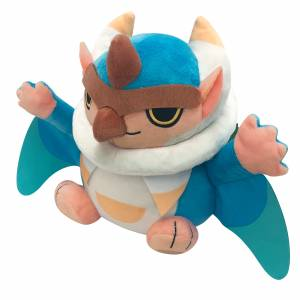 Monster Hunter Rise Deformed Plush Bishaten [Plush Toy]