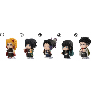 Kimetsu No Yaiba Demon Slayer PVC mascot 16 Pack BOX [Bandai]
