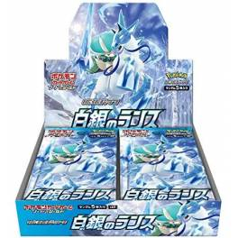 Pokemon Card Game Sword & Shield Booster Expansion Pack Silver White Lance 30Pack BOX [Trading Cards]