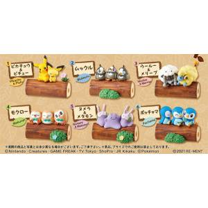 Pokemon Lineup! Connect! Good Friends Tree 6 Pack BOX CANDY TOY [Rement]