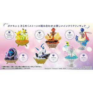 Pokemon - Pokemon Gemstone Collection 6 Pack BOX CANDY TOY [Rement]