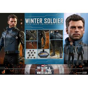 TV Masterpiece The Falcon and the Winter Soldier - Bucky Barnes [Hot Toys]