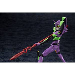 Evangelion 3.0+1.0 Thrice Upon a Time Movie - EVA-01 with Spear of Cassius 1/400 Plastic Model [Kotobukiya]