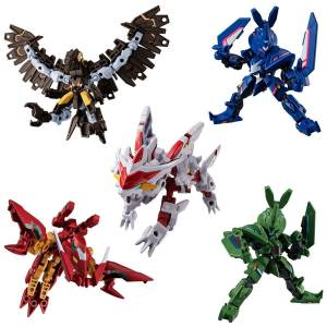 Anima Gear DE Double Edge 10 Pack BOX (CANDY TOY) [Bandai]